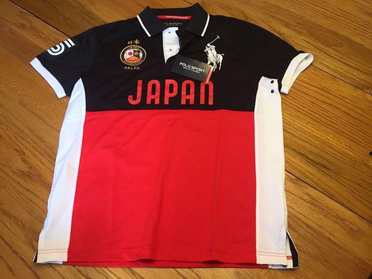 $135 NEW Mens Medium Polo Sport Ralph Lauren Nippon Koku Japan Performance Shirt   Clothing, Shoes & Accessories, Men's Clothing, Casual Shirts   eBay!