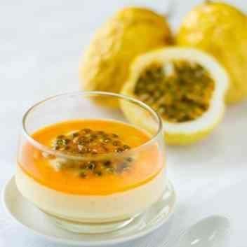 How to Make Passion Fruit Mousse Dessert #dessert #recipe #passionfruit #mousse