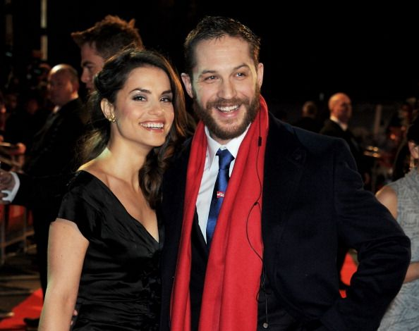 Q: What do you wear in bed?  Tom: My wife, whenever possible.    [the fabulous things tom hardy says during a red carpet interview x]