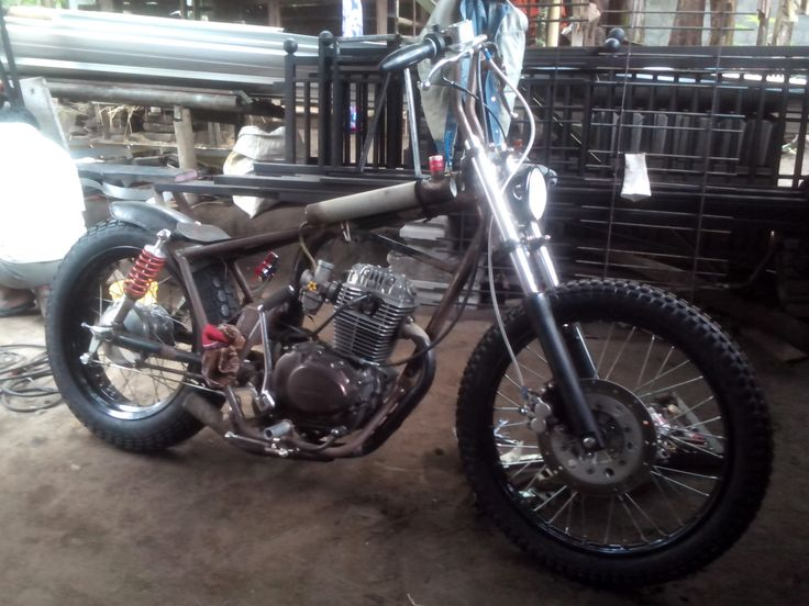 Honda GL100 Chopper 2015 project
