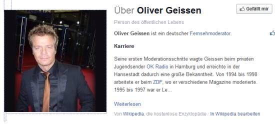 Oliver Geissen: Auch 2016 Moderator bei DSDS!