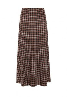 Юбка Vis-a-Vis, цвет: коричневый. Артикул: VI003EWMDW20. Женская одежда / Юбки / Юбки-макси