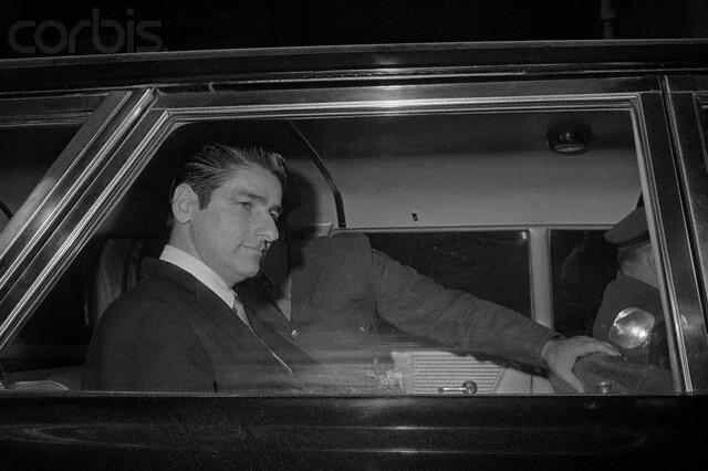 Mental Patient and Strangler Albert DeSalvo  January 18, 1967 - Albert DeSalvo, 35, mental patient and self-confessed Boston Strangler, smiles as he is driven away from the courthouse. An all-male Superior Court jury found him guilty on all ten counts of assault and burglary. He was sentenced to life imprisonment. DeSalvo had not been charged with any of the 13 stranglings of women which occurred over a two-year period.