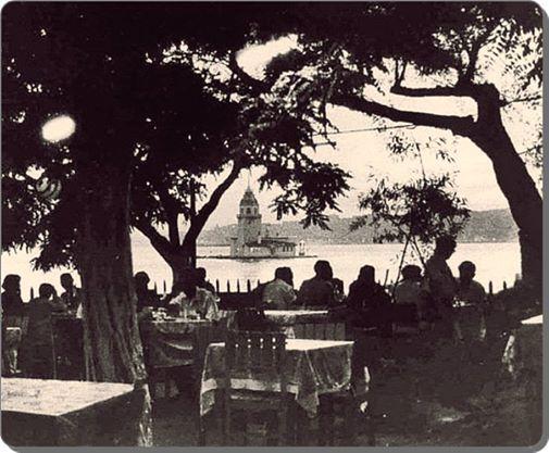 Salacak Çay Bahçesi - 1960 lar