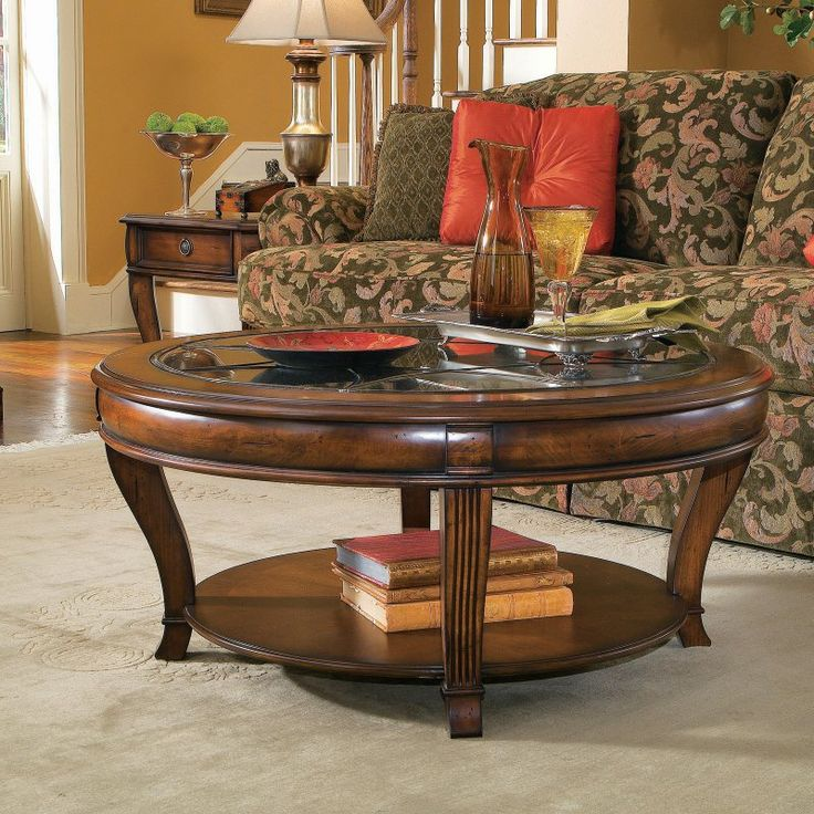 Hooker Furniture Brookhaven 3 Piece Round Coffee Table Set - HOOK1426