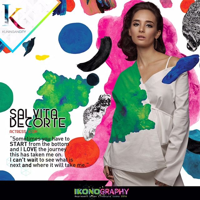 Salvita Decorte  Actress Icon Ikonography 2016