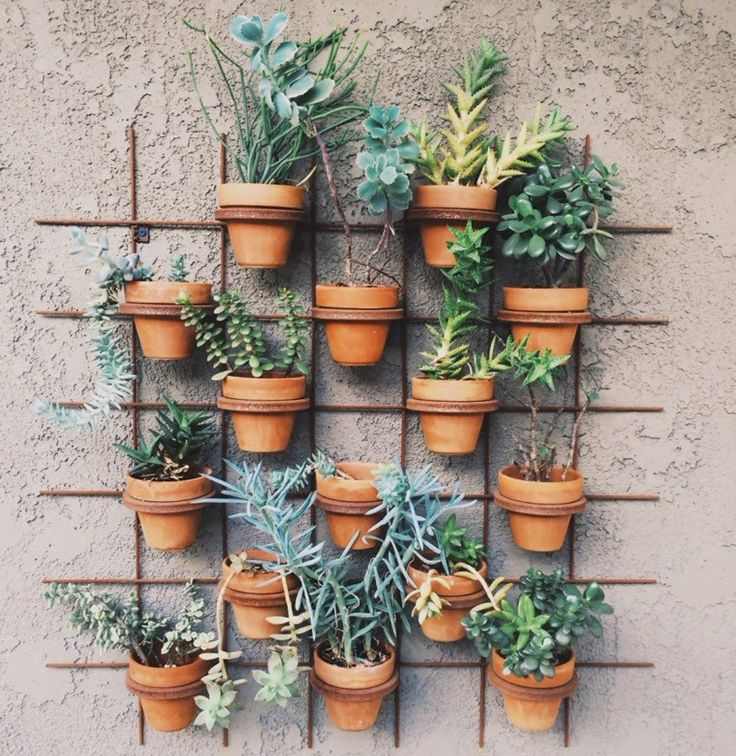 This creative solution combines trellising with stacking. From Red Envelope.