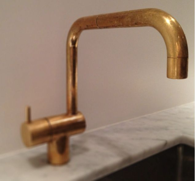 1000 ideas about Brass Kitchen Faucet on Pinterest