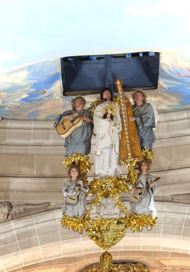 Asciende el #alma de #María a los cielos  #MisteridElx Foto: Sixto Marco