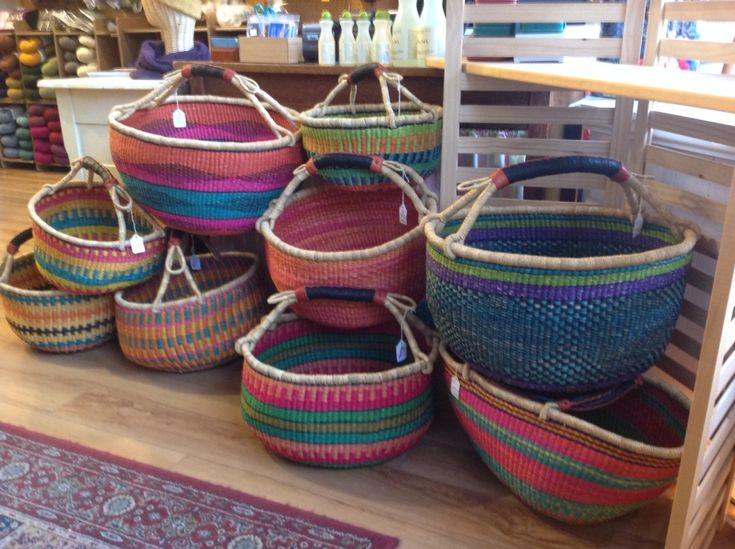 Holiday Baskets | Three Bags Full Yarn Store - Vancouver, Canada