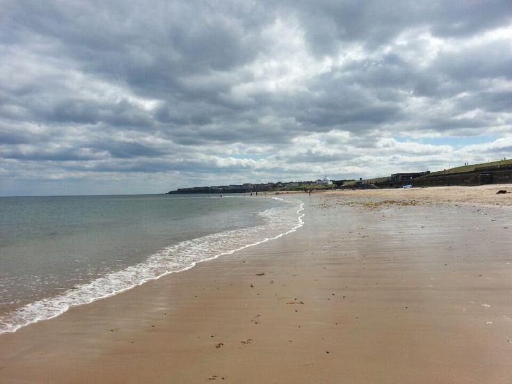 Whitley Bay Beach in Whitley Bay, North Tyneside
