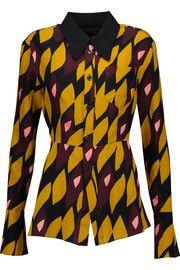 MarniPrinted silk-blend shirt