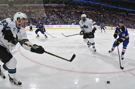 «Сан-Хосе» сравнял счет в серии с «Сент-Луисом». Кубок Стэнли. НХЛ. (ВИДЕО)