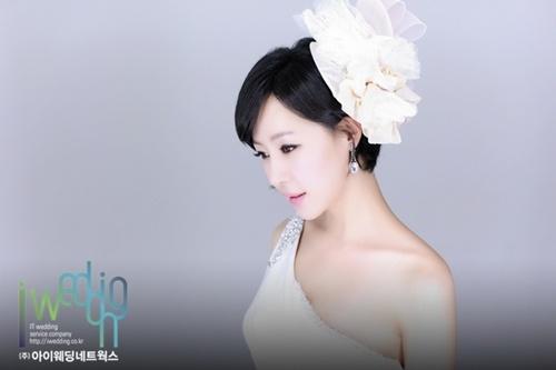 배우 채영인, 24일 결혼 앞두고 사랑스러운 웨딩사진 공개 - (주)아이웨딩네트웍스 - 플라자