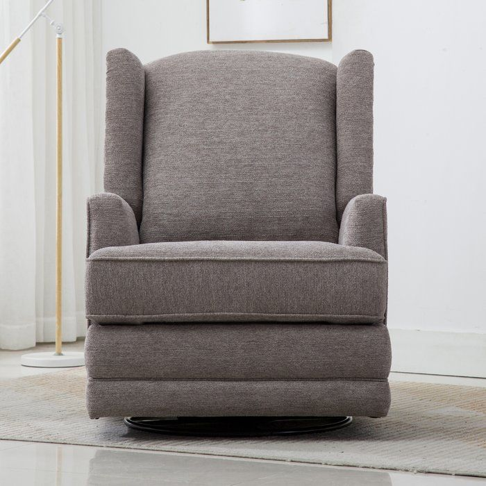 Yepez 31 Wide Chenille Manual Standard Recliner Swivel Glider Recliner Swivel Glider Swivel Recliner Chairs