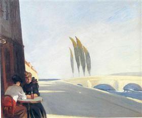 Bistro - Edward Hopper - 1909