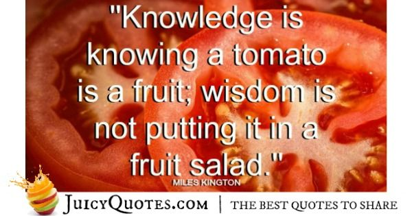 Funny Quote - Miles Kington