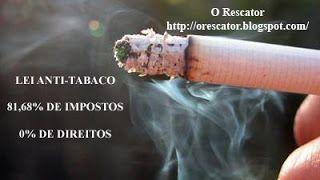 O Rescator: Lei Anti-Tabaco é Ilegal! Finalmente! Imagem editada por Jorge Costa - O Rescator; parte integrante do Blog O Rescator