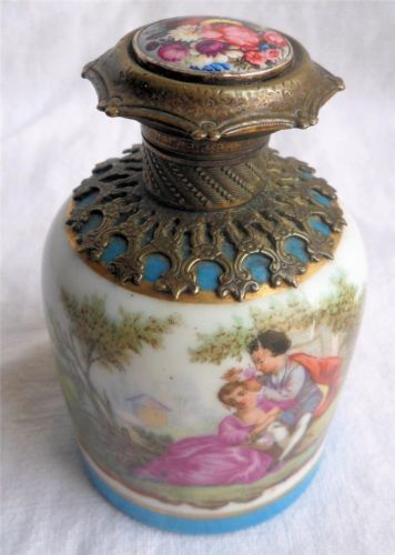 Antique Grand Tour French Perfume Scent Bottle C1880 | eBay