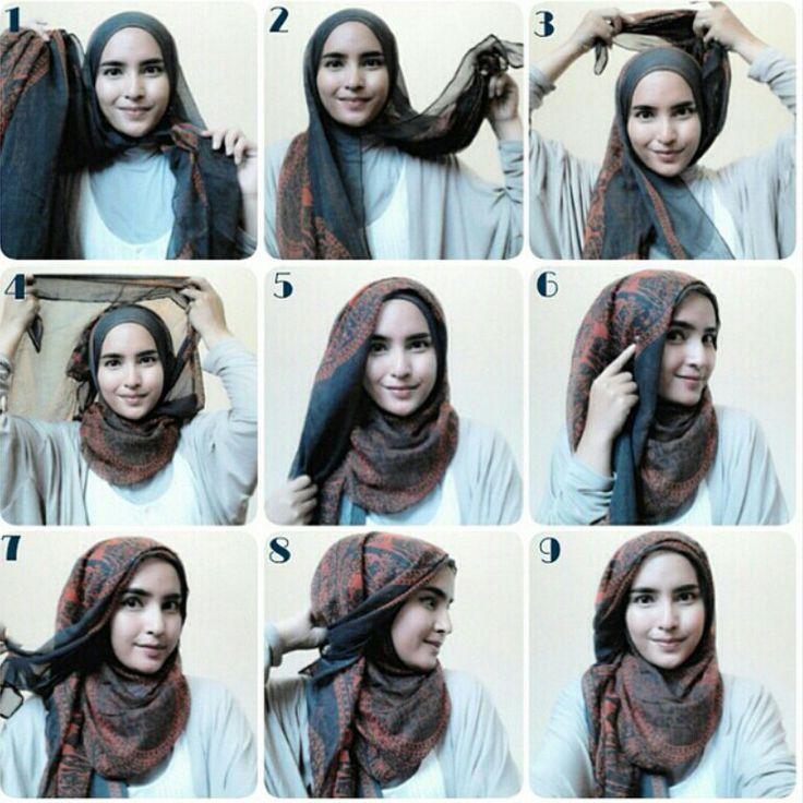 Tutorial Hijab Pashmina Ceruti Hijab Tutorial Simple Hijab Simple Hijab Tutorial