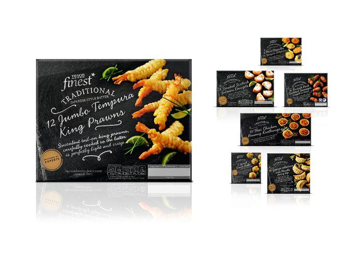 Pemberton & Whitefoord (P&W) – London NW1, UK   TESCO Finest* packaging design evolution