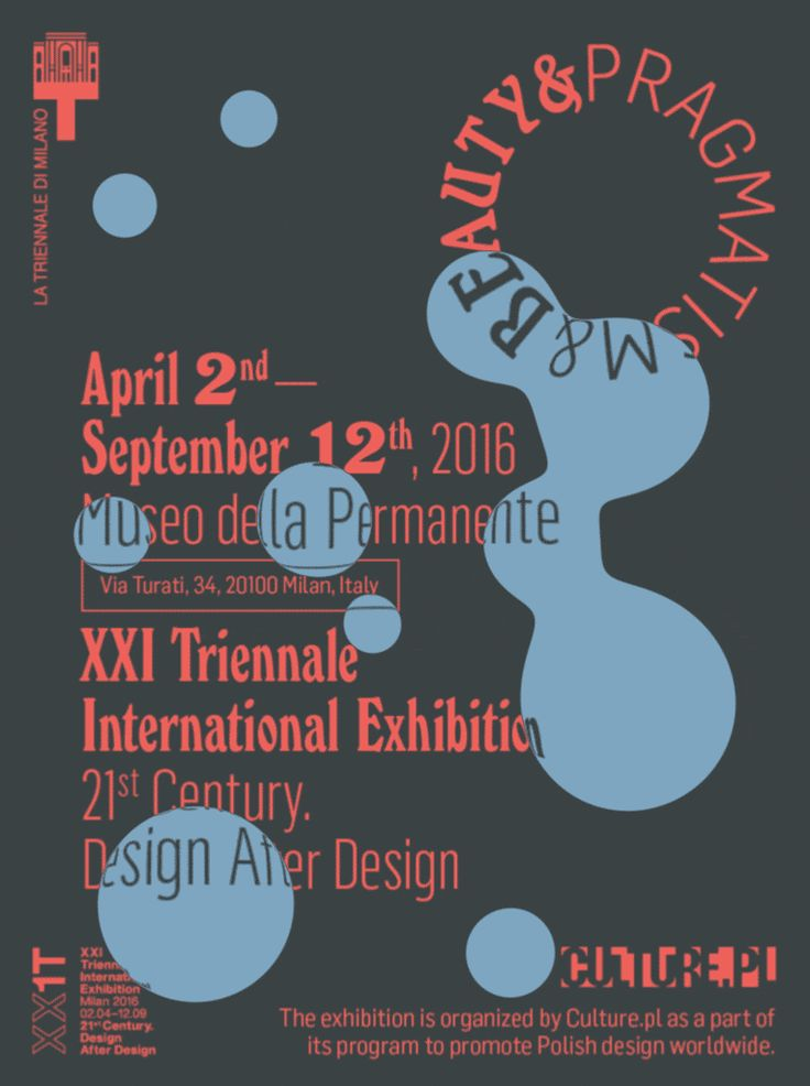 BEAUTY & PRAGMATISM | PRAGMATISM & BEAUTY Two faces of Polish design at the Milan Design Triennale, 2016