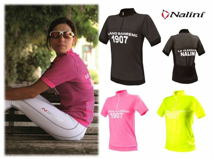Nalini Lady Milano seamless short-sleeve jersey. Pure comfort and high quality.