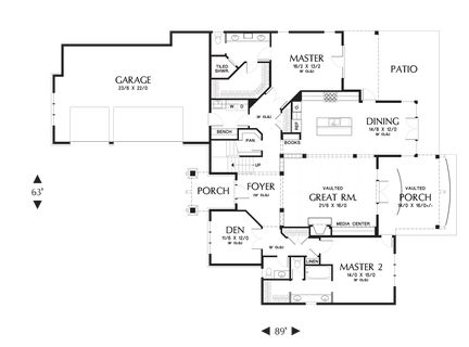 Elegant Craftsman with Double Master Suites. Plan 2396 The Vidabelo is a 3084 SqFt Craftsman, Traditional style home plan featuring Covered Patio, Den, Games Room, Guest Suite, Inlaw Suite, Jack & Jill Bathroom, Mud Room , Outdoor Living Room, Second Master Bedroom, Shop, Skylights, and Walk-In Pantry by Alan Mascord Design Associates. View our entire house plan collection on Houseplans.co.