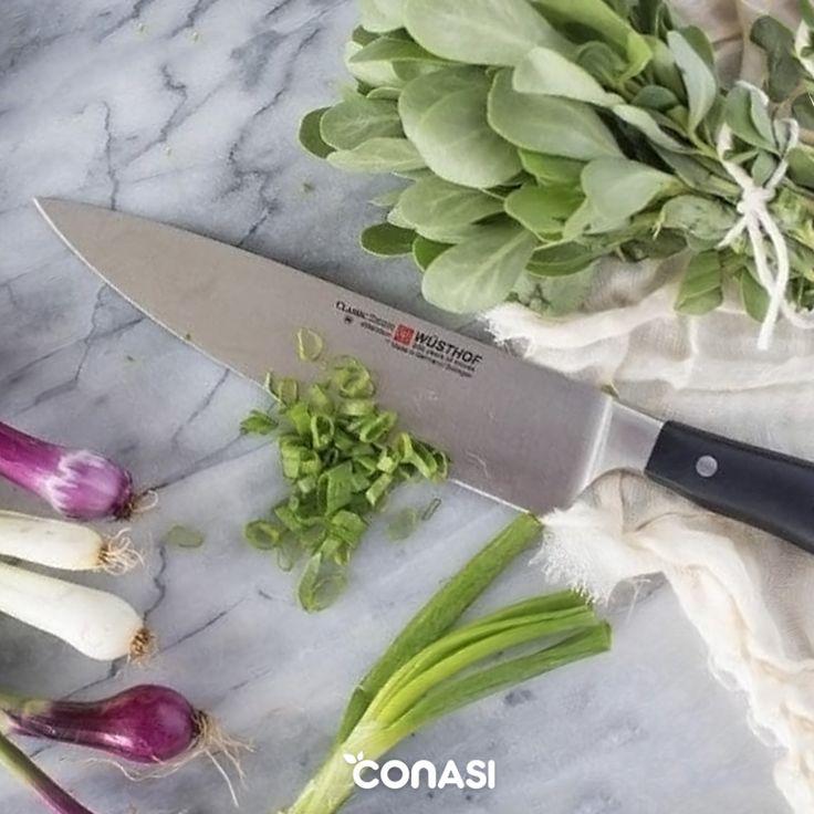 ¿Sueles cambiar de cuchillos a menudo? Pásate a la marca alemana #Wüsthof, referente mundial en la fabricación de cuchillos de acero inoxidable.