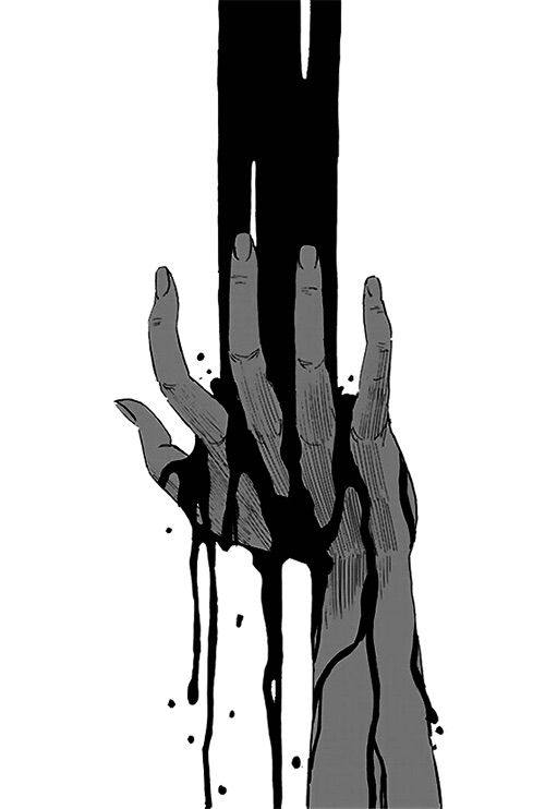 Anime hand creepy