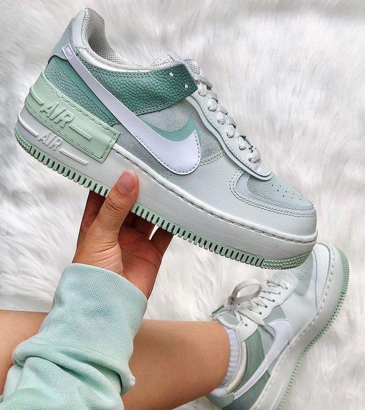 Women Nike Air Force 1 Shadow Pistachio Frost | Nike air shoes ...