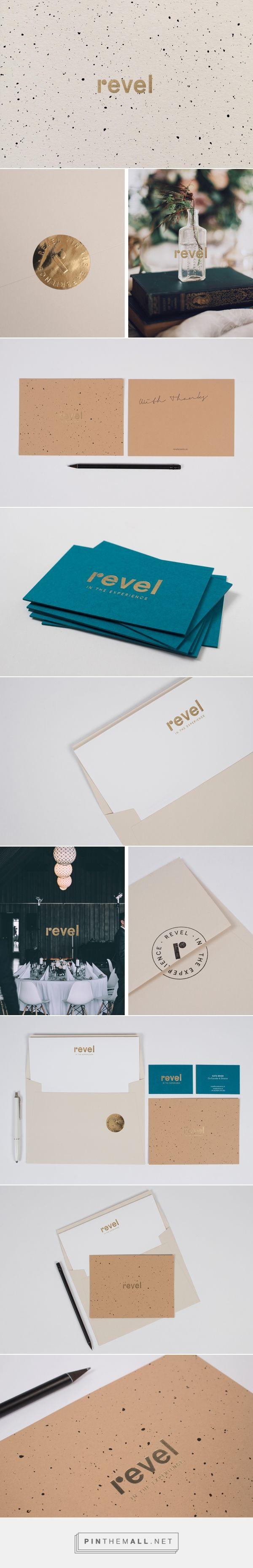 Revel on Behance Branding brand design