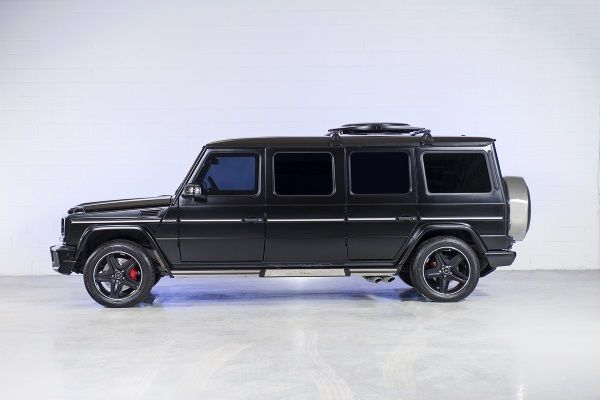 Luxury Armored Mercedes G36 AMG, by INKAS | Baxtton