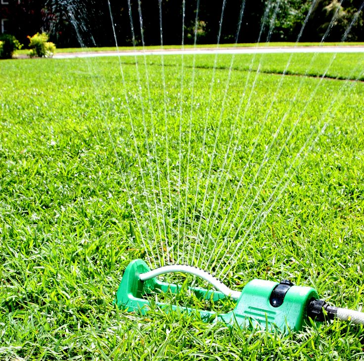 Planted Perfect Easy Oscillating Sprinkler System