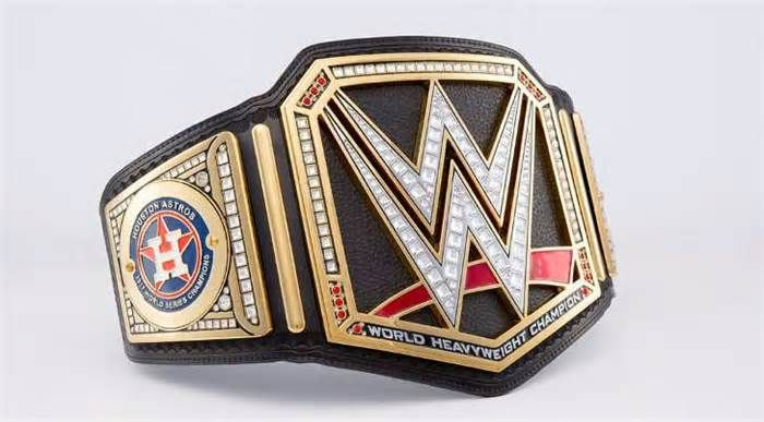 'Triple H' Congratulates the Houston Astros With Their Own WWE Belt It has become tradition over the past several years for the WWE to present champions of the MLB, NFL, NHL, and NBA their own custom belts. Levesque also made sure to mention that the next WWE pay-per-view, Survivor Series, will coincidentally broadcast ...