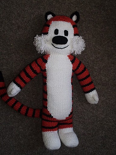 Ravelry: tall tiger pattern by Browneyedbabs
