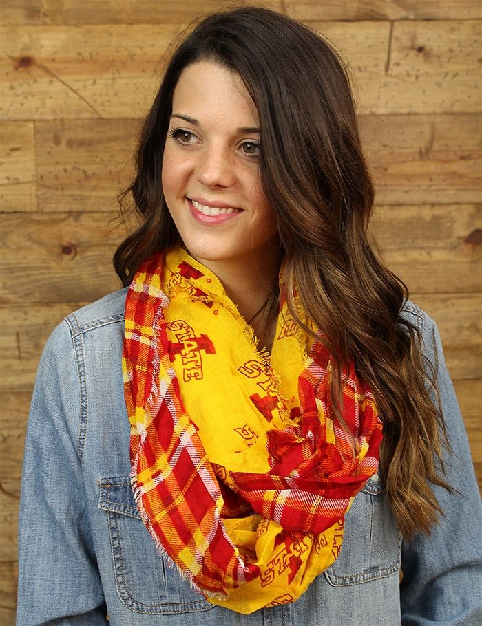 Just like your love for Iowa State will never end... so does this scarf Grab…