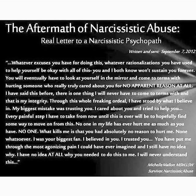 I've accepted that I will never gain closure from his abuse. He feels no remorse. I won't even communicate to him that I am in pain because he finds joy in my agony. No Contact is the only way I can heal!