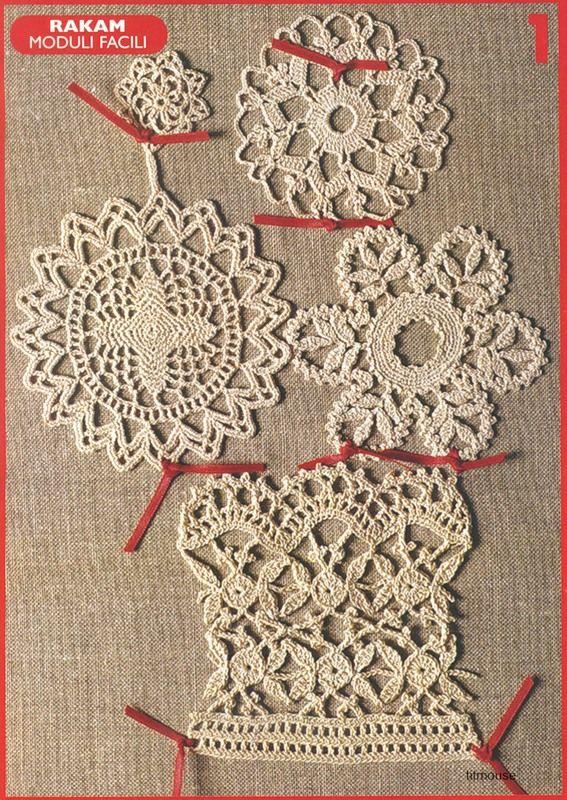 Crochet Motif free patterns