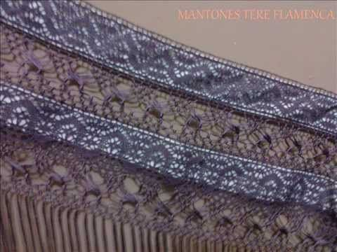 Mantoncillo con puntilla u orilla a crochet HD - YouTube