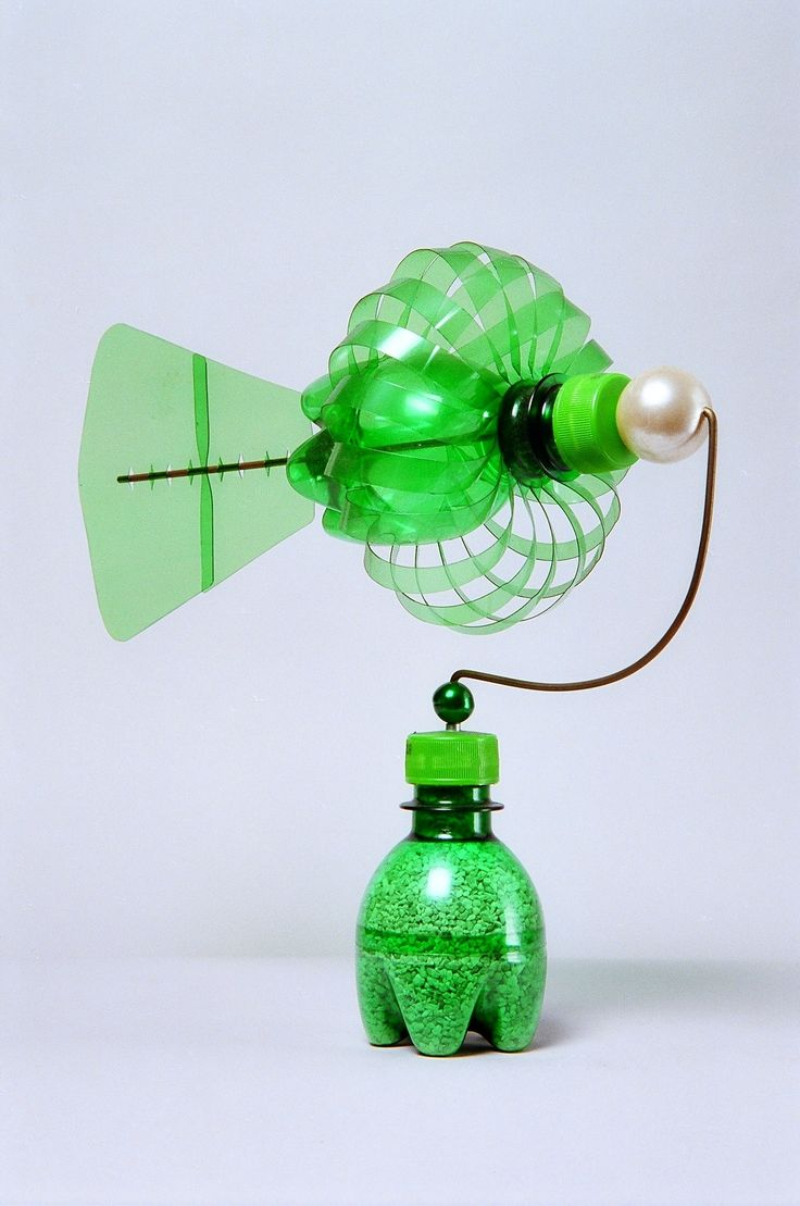 Green bottle windmill-2