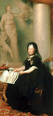 Maria Theresa of Austria, widow in 1773, remined in mourning from the death of her husband to her own death 18y later.