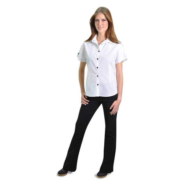 Ladies Bengaline Pants BRAND: OAKHURST Has fabric contains spandex for stretch and Flattering fit