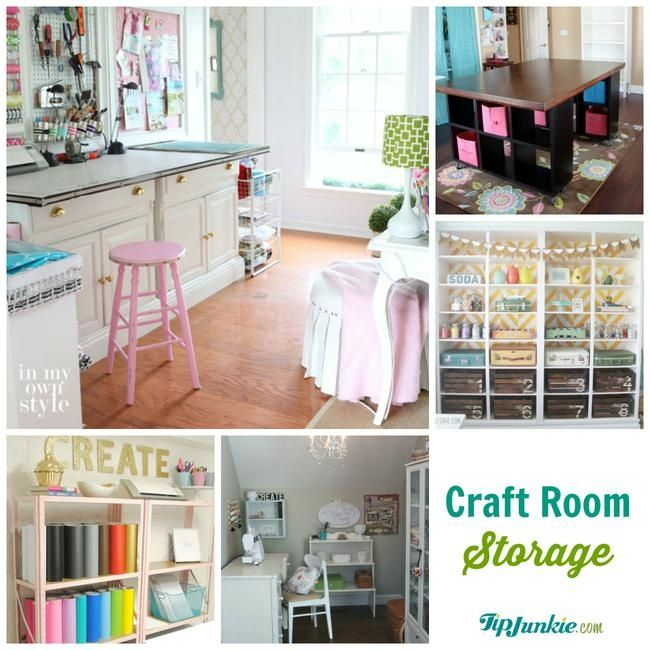 Craft Room On Pinterest Gift Wrapping Guest Rooms And Craft Tables