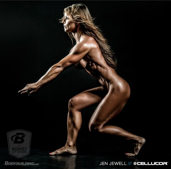 """Bodybuilding.com """"Bodies of Work"""" editorial featuring my fitness inspiration Jen Jewell."""