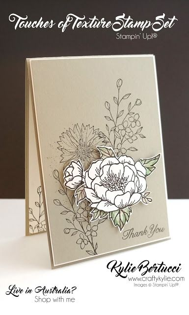Stampin' Up! Australia: Kylie Bertucci Independent Demonstrator: Thailand Achievers Blog Hop October - Inspired by Nature