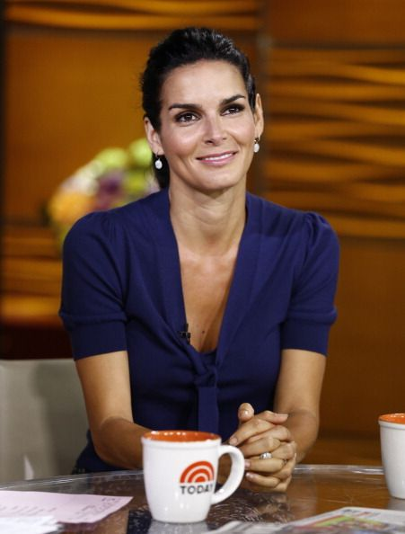 Angie Harmon promoting Rizzoli & Isles on The Today Show. Makeup by Beau Nelson.