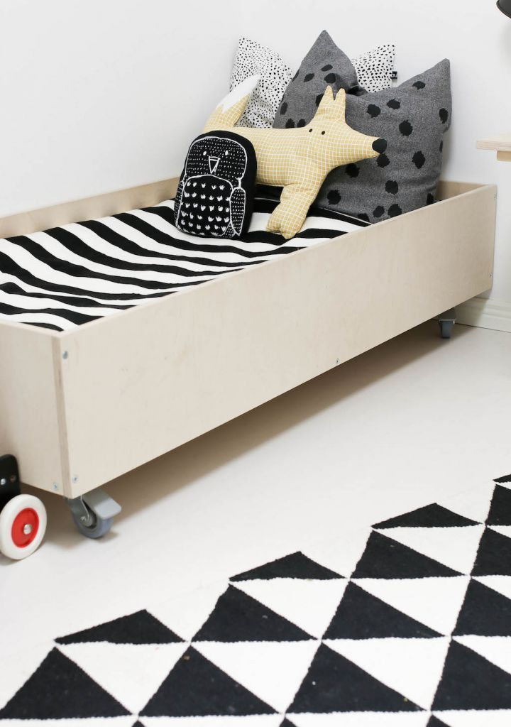 Inspiration / plywood bed