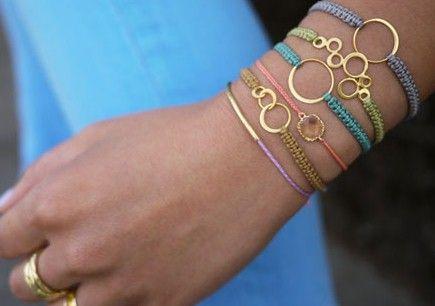 Как сделать браслет талисманом удачи
