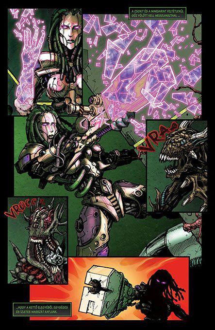 Bloodlust 3. szám, 12. képregényoldal